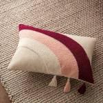 Μαξιλαροθήκη 30x45 / GOFIS HOME Iris Cherry Pink Ecru 242